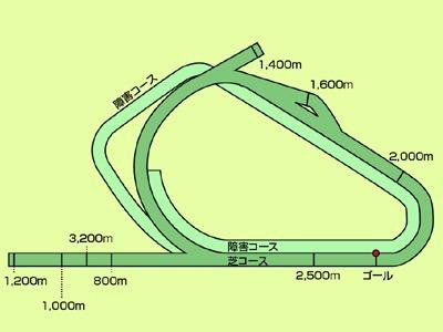 フレミントン競馬場コース図